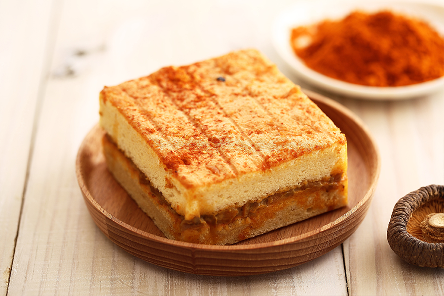 咖哩鹹蛋糕(獨享盒)