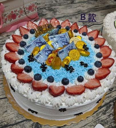 ★奶素抽錢蛋糕★