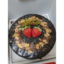 經典榛果巧克力蛋糕(蛋奶素)