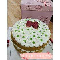 ★斑蘭生乳蛋糕★