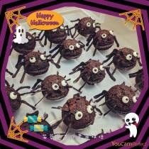布朗尼蜘蛛蛋糕
