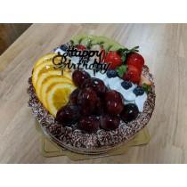 ★水果可可夾層蛋糕★